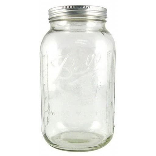 Ball Wide Mouth Storage Jars